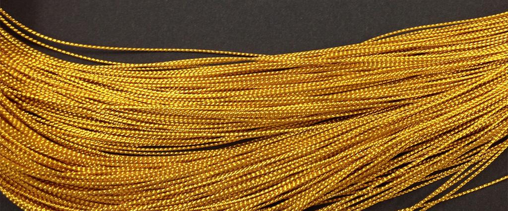 金銀糸(組みひも)加工